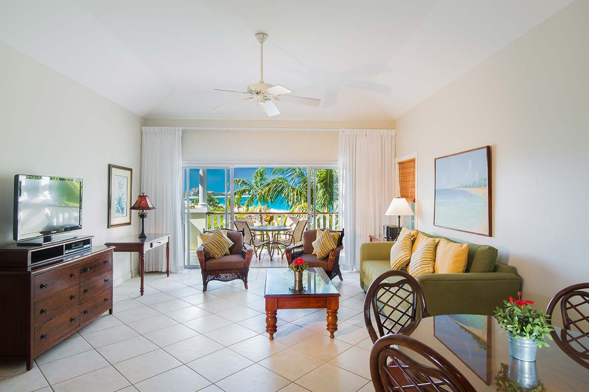 two bedroom. Many of the Royal West Indies  studio and one bedroom suites were designed with a common foyer that when used allow formation 1544 sq ft two Two Bedroom Suite Resort Turks Caicos